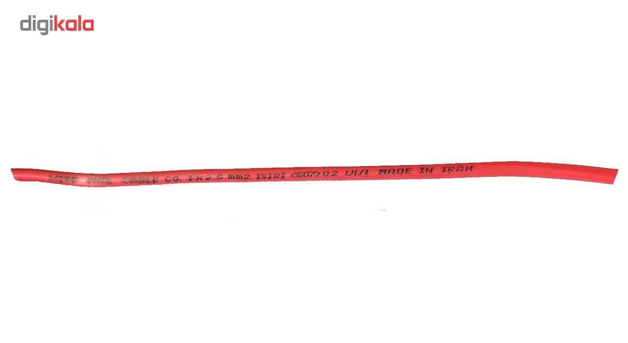 سیم برق 1 در 2.5 البرز برتر مدل افشان