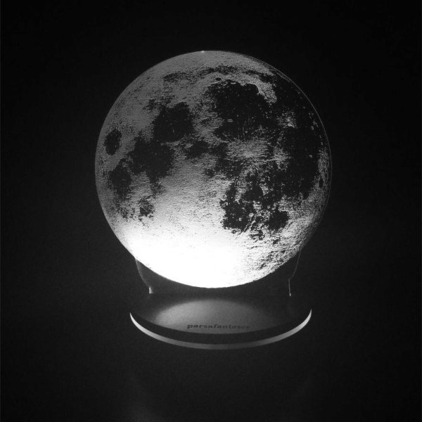 چراغ خواب پارسافن لیزر طرح کره ماه 16 رنگ